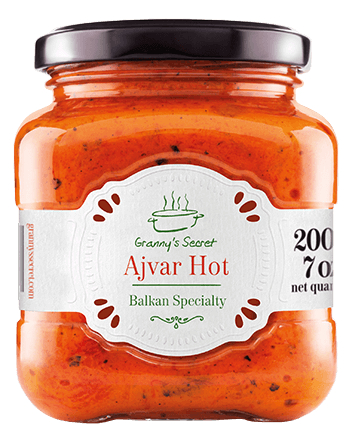 Ajvar Grannys Secret Hot
