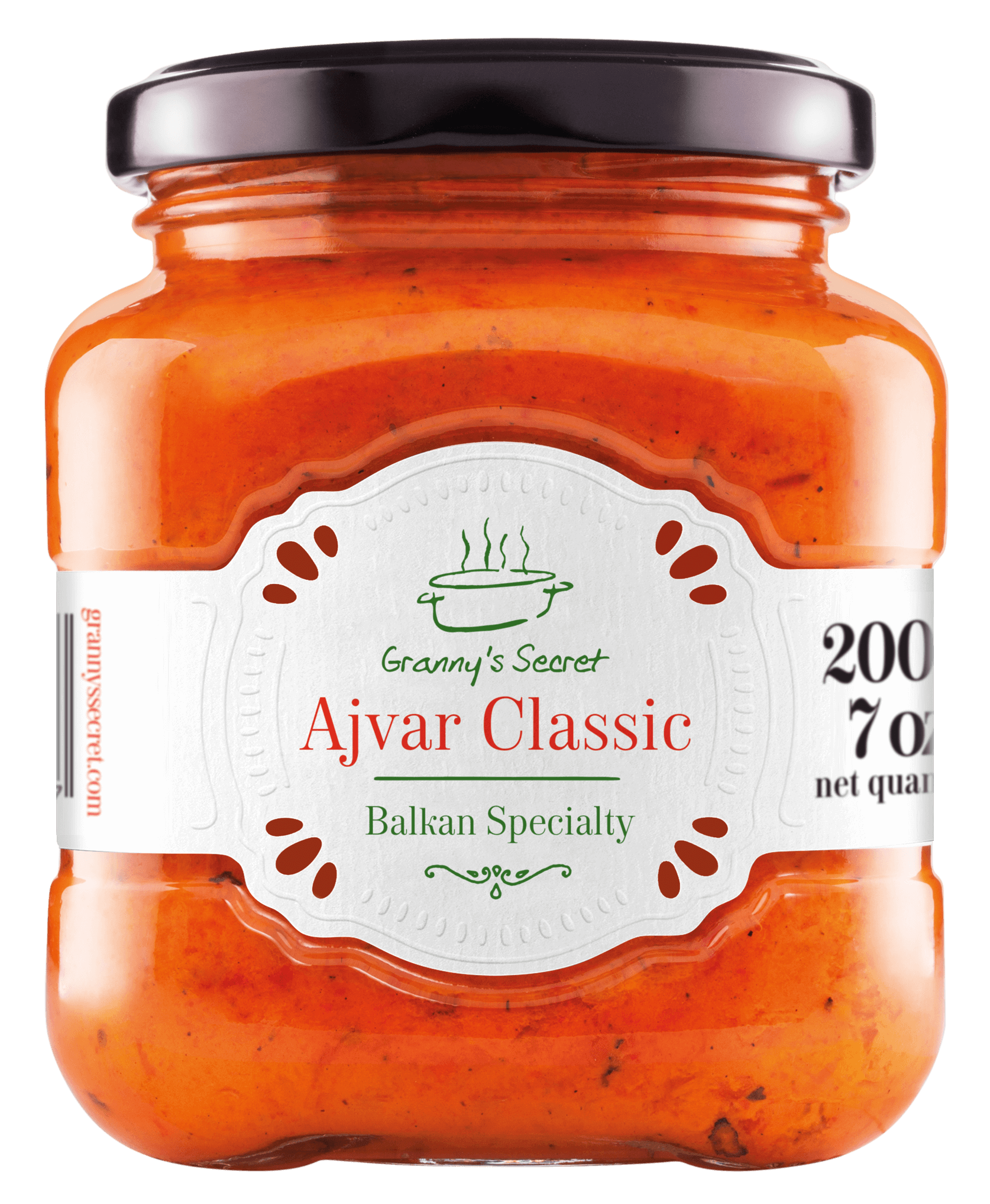 Ajvar - Roasted Red Pepper Spread